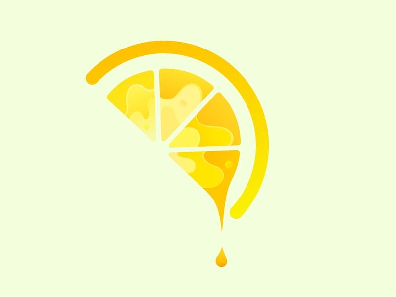 Lemon orange yellow lemon sketch vector illustration