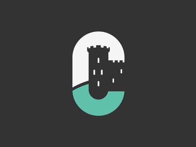 Logo concept simplicity negative space illustration logo