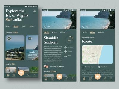 Isle of Wight walking app