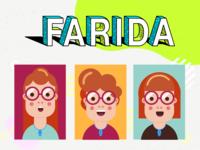 Farida (Characters Design)
