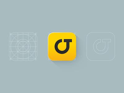 OnTelly logo identity ontelly app icon ios7