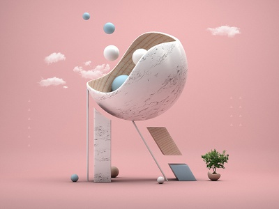 Letter R typography type pastel 3d marble alphabet 36daysoftype r letter