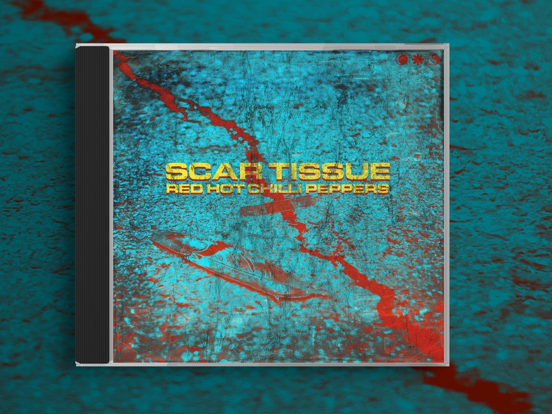 Scar Tissue - Red Hot Chilli Peppers - Cover Design