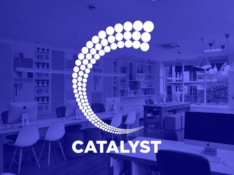 Catalyst duotone agency branding brand design brand identity branding vector logodesign agency design catalyst logo design logo