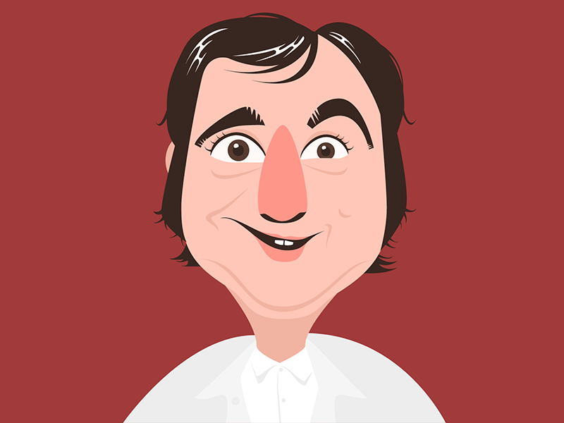 Andy sketch character color colour vector