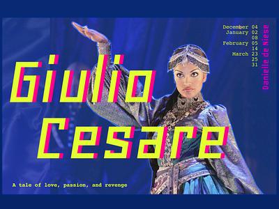 Giulio Cesare poster