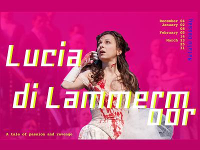Lucia di Lammermoor poster opera