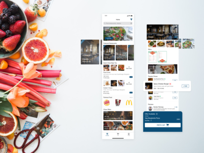 Chow - Food Ordering App UI