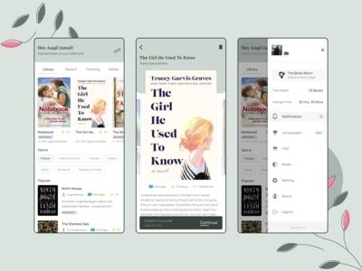Book Reading Concept App 📚