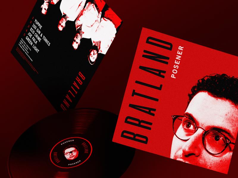 Bratland - Posener EP brats trustor punkrock music album ep vinyl