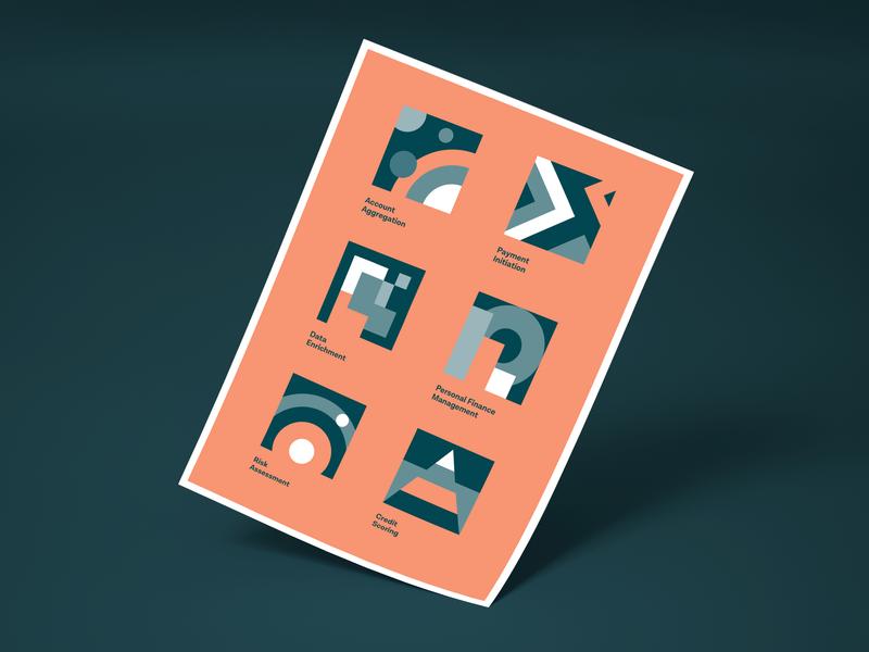 Tink Product Illustrations finance simple brand design illustration