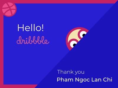Dribbble Greeting