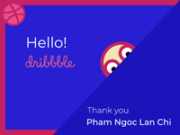 Dribbble Greeting