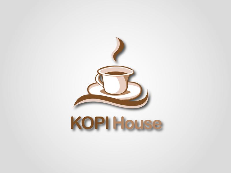 Kopi House Logo 1 le designs vector typography photoshop minimal logo design logo illustrator illustration identity icon graphic design graphic flat design business card branding brand identity brand art