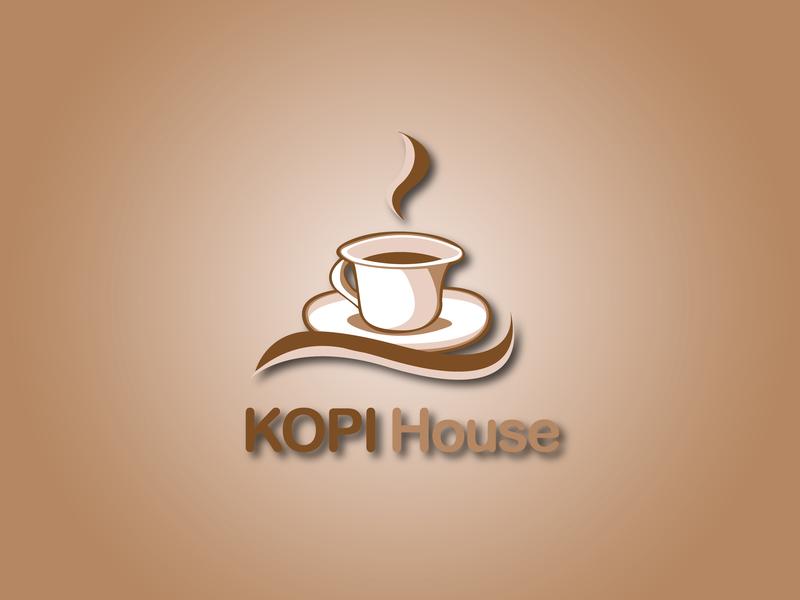 Kopi House Logo 2 le designs vector typography photoshop minimal logo design logo illustrator illustration identity icon graphic design graphic flat design business card branding brand identity brand art