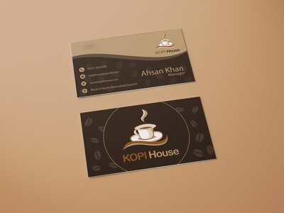 Kopi House Business Card