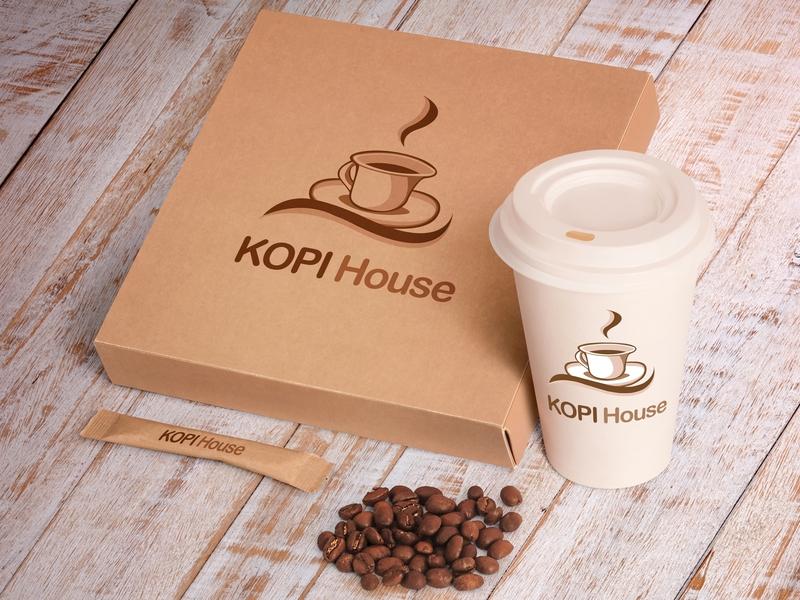 Kopi House Mockup 4 le designs vector typography photoshop minimal logo design logo illustrator illustration identity icon graphic design graphic flat design business card branding brand identity brand art