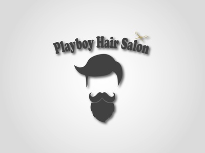 Playboy Hair Salon Logo
