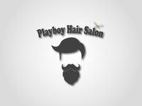 Playboy Hair Salon Logo