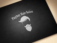 Playboy Hair Salon Mockup 1