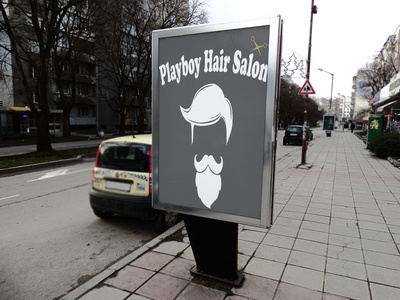 Playboy Hair Salon Mockup 3