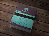 Pets Home Business Card