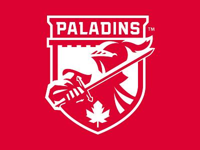 RMC Paladins athletics school college crest paladins brand athletic illustration branding team sports sport logo identity slavo kiss
