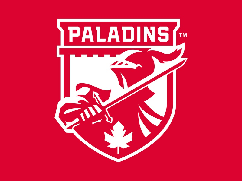 RMC Paladins athletics school college crest paladins brand athletic illustration branding team sports sport logo identity slavo kiss