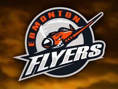 Flyers slavo kiss logo sport sigma kappa brands team club hockey identity flyers edmonton canada plane aircraft