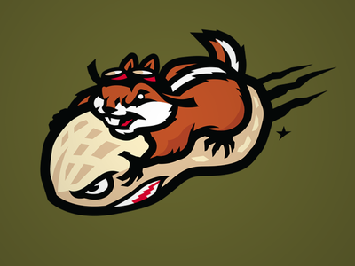 Bomber cap hat identity bomber bomb patch character design cartoon character hackee chipmunk illustration sport logo slavo kiss
