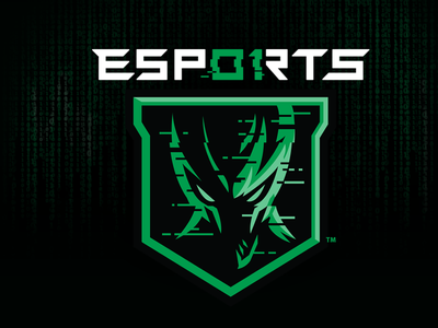 01 ESPORTS illustration matrix gaming logo branding sports identity slavo kiss