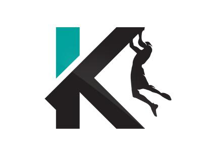 AS Klatring  branding identity icon athletic team mountains extreme sports rock climbing norway slavo kiss