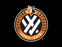 Tricksters 15th Anniversary Logo