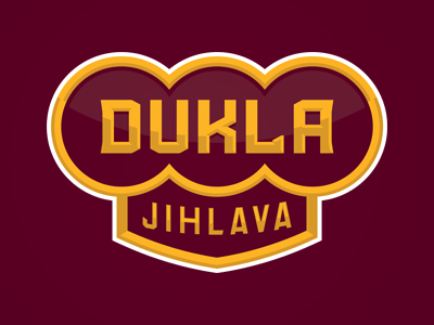 Dukla Jihlava branding identity club army champion legend jihlava dukla sports czech republic hockey slavo kiss