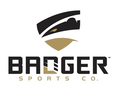 Badger Sports Co. branding organization athletic team logo boxla identity sports hockey lacrosse badger slavo kiss
