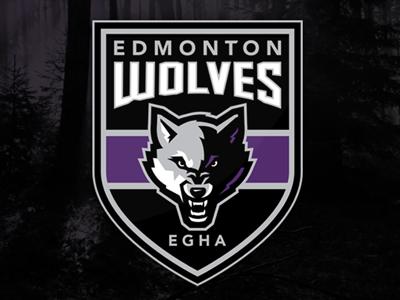 Edmonton Wolves canada athletic club edmonton wolves logo design team hockey branding sports identity slavo kiss slavo