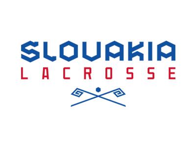 Slovakia Lacrosse typography wordmark slovakia lacrosse design team branding sports identity slavo kiss