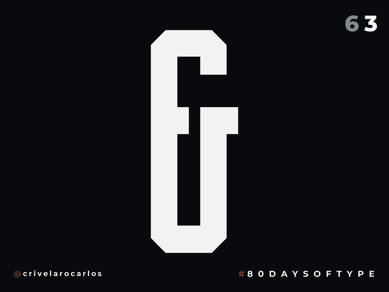 Bold Condensed Display Ampersand - 80 Days of Type illustrator ampersands ampersand 36daysoftype typedesign typeface type type art 80 days of type typography