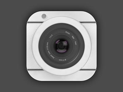 3D Photo App Icon logo app icon photo 3d render