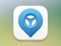 Car Sharing App Icon