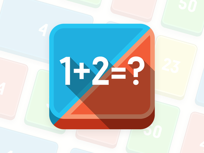 TrueMath Icon icon app game math