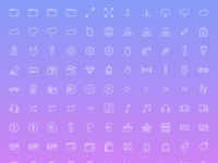 Simple line icons 2 preview