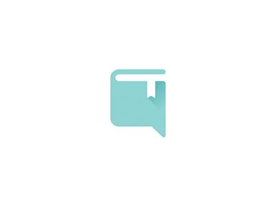 HelloUni Logo bookmark book logo university uni