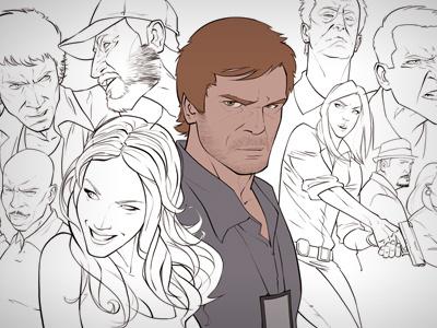 Dexter montage dexter morgan tv series serial killer