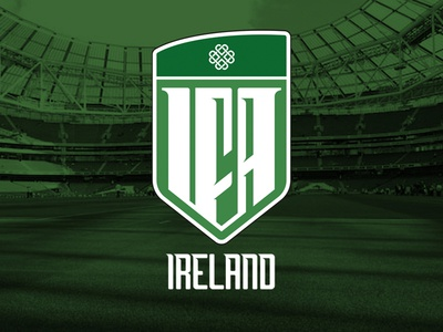 IFA Identity branding euro 2016 mark brand identity republic of ireland northern ireland team soccer irish logo football