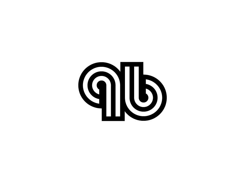 96 loop line symbol mark ambigram number 96