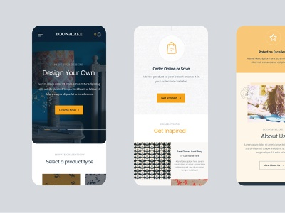B+B mobile design mobile ui ecommerce iconography responsive design ux design website design web design branding web-design layout interface texture ui clean website
