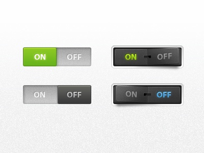 UI Buttons button clean interface ui green