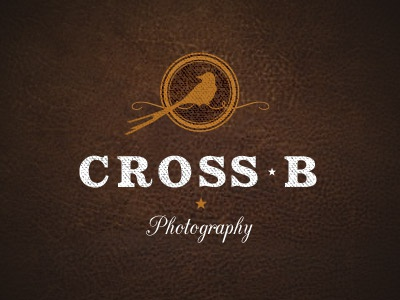 Cross B Photography logo texture icon type
