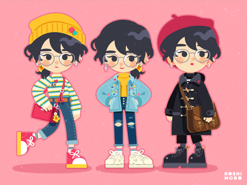 self-portrait design fashion illustration character design ootd outfits